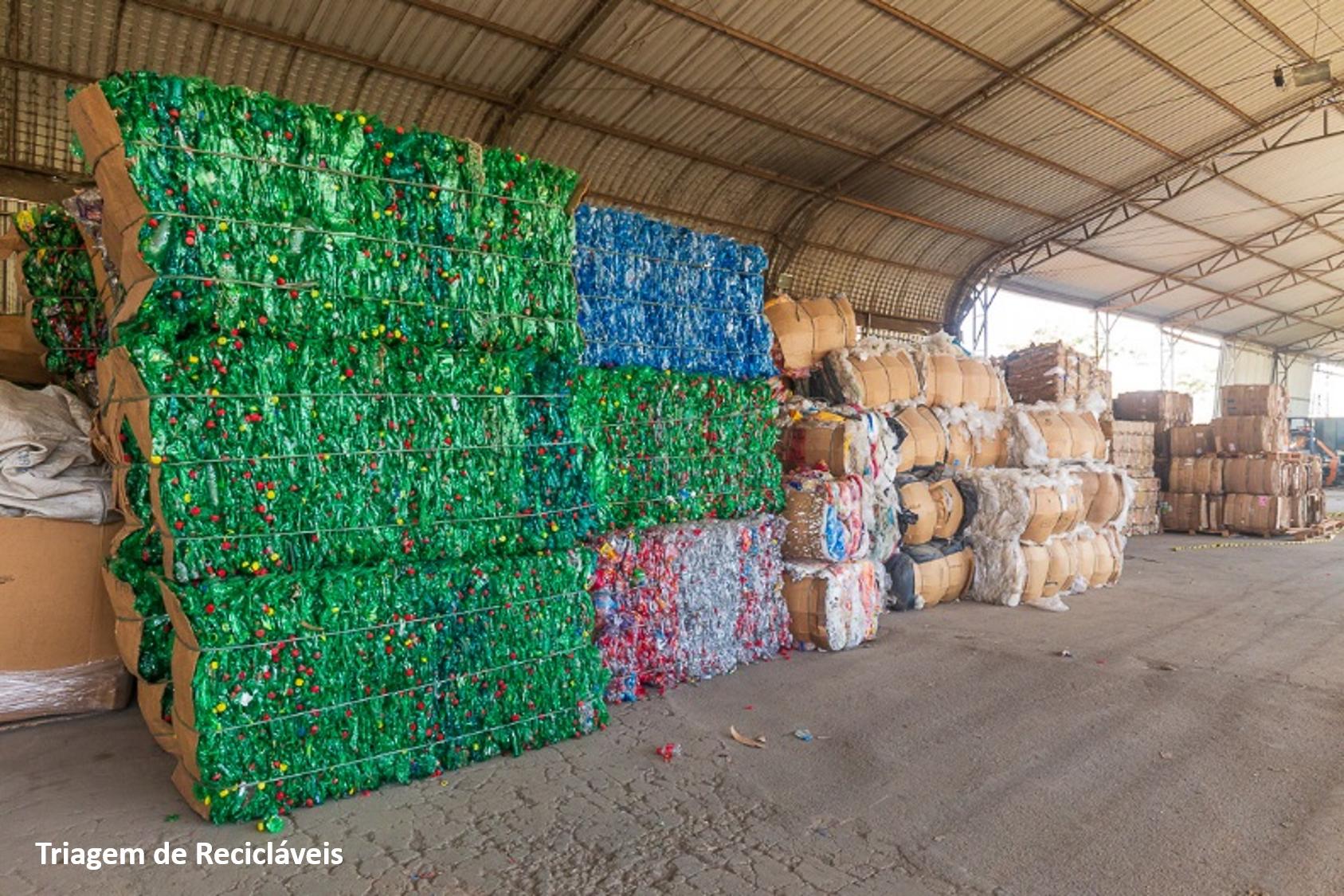 Ecoindústrias de reciclagem